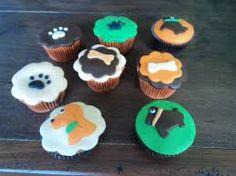 Resultado de imagem para cupcake personalizado para festa de cachorrinha