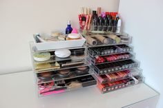 HOME SWEET HOME   Makeup Collection Storage