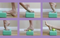 Exercises to Erase Foot and Ankle Pain (Gentle, Soothing) If you suffer from achy feet, try this soothing DIY foot massage and ankle stretch.If you suffer from achy feet, try this soothing DIY foot massage and ankle stretch. Foot Exercises, Ankle Stretches, Ankle Strengthening Exercises, Sprained Ankle Exercises, Ankle Mobility Exercises, Dancer Stretches, Fitness Workouts, At Home Workouts, Bloc Yoga