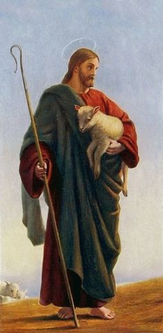 William Dobson - He carries me. Catholic Art, Religious Art, Christ The Good Shepherd, Image Jesus, Our Father In Heaven, Christian Artwork, Jesus Pictures, Jesus Loves You, Jesus Is Lord