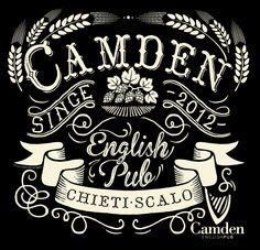 Camden English Pub #Lettering