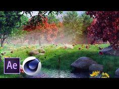 (20) Сказочный лес в Cinema 4D и After Effects. Часть 2 из 4 - YouTube