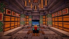 Architektur Medieval Storage Room Minecraft Project The love of a garden fountain The backyard in it Minecraft House Plans, Minecraft City Buildings, Minecraft Funny, Minecraft Architecture, Minecraft Blueprints, Minecraft Creations, Minecraft Designs, Minecraft Storage Room, Minecraft Room