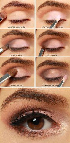 Too Faced Chocolate Bar Eye Shadow Tutorial
