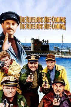 The Russians Are Coming, The Russians are Coming: Carl Reiner, Eva Marie Saint, Alan Arkin, Brian Keith: