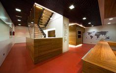 Headquarters of Cupa Group. Ponferrada., Castile and León, 2008 - Díaz y Díaz Arquitectos