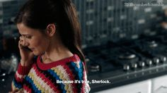 """""""Because it's True, Sherlock"""" .. """"The Final Problem"""" (4/8) .. #SherlollyMoments <3 .."""