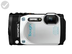 Olympus TG-870 Tough Waterproof Digital Camera (White) - Photo stuff (*Amazon Partner-Link)