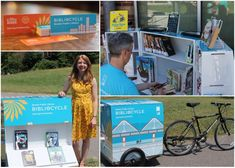 Boston Public Library's Bibliocycle had a successful launch. Library Week, Free Library, Library Card, Mobile Library, Library Humor, Kids Series, Mobile Business, Little Free Libraries, Boston Public Library