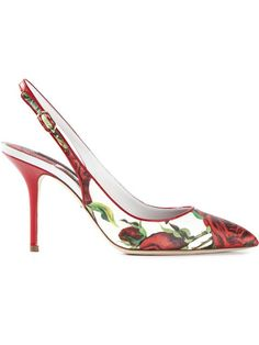 Shop Dolce & Gabbana 'Bellucci K' sling-back pumps in Coltorti from the world's best independent boutiques at farfetch.com. Over 1500 brands from 300 boutiques in one website.