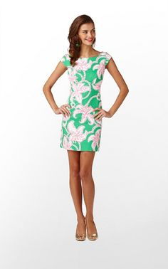 Lilly Pulitzer Allura Dress in Pink Twinkle. $228.00