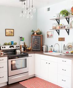 Inside S.F.'s Teensiest Apartments — Major Inspo Ahead! #refinery29  http://www.refinery29.com/2013/06/48859/cool-small-apartments