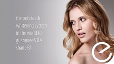 The only teeth whitening system in the world to guarantee vita B1 shade