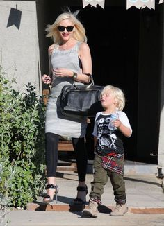 Gwen Stefani and her son Zuma