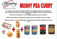 Mushy pea curry