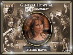 GH 50 Anniversary celebrates Alexis Davis collage (Nancy Lee Grahn)
