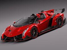 Visit The MACHINE Shop Café... ❤ The Best of Lamborghini... ❤ (3D/2014 Lamborghini Veneno)