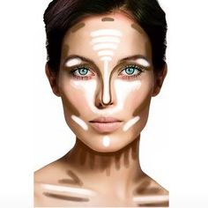 💄 Makeup Hacks You Need To Know - Contouring - Eyeliner . - - 💄 You NEED To Know - Contouring - Eyeliner makeup hacks contouring - Makeup Hacks Makeup Tips Contouring, Makeup Hacks Concealer, Makeup Tips Eyeshadow, Face Contouring, Highlighter Makeup, Contouring And Highlighting, Eye Makeup, Makeup Tricks, Bronzer Tips