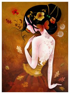 Poetic and Mysterious Ladies by Sybile