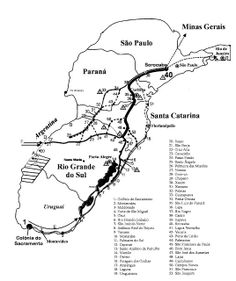PÉ NO TRECHO  PIQUETE-SP: A HISTÓRIA  DO CAMINHO DO OURO, VIA PARA O POTOSI, ROTA AFRO DA DIÁSPORA : Rotas de tropeiros