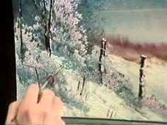 ▶ Bob Ross Winter Glow Joy of Painting - YouTube