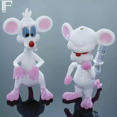 Pinky and the brain rigs