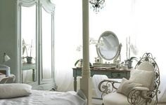 stannirwany:  Interior. New Home Interiors With Beautiful And Stylist Design: Gorgeous Bedroom Furniture With Luxury Classic Design In New Home Interoiors ~ Esspey on We Heart It.