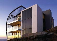 modern architecture building