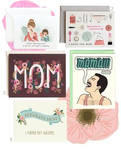 Mom Cards for Mom's Day