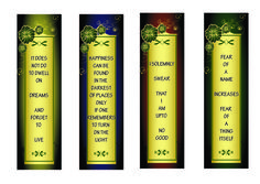 """Harry Potter Bookmarks Printable 
