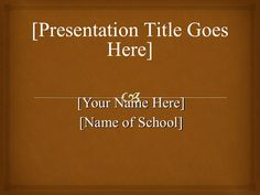 APA template powerpoint by Wylie Tidwell, III via slideshare> for my grad paper