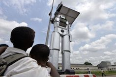 Giant robocops are being deployed to solve the Congo's traffic problem #Correctrade #Trading #News