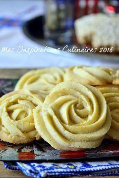 Gâteaux secs fondants a la Maïzena – Yummy – Fat & Baking