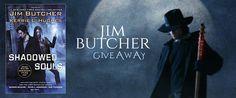 #JimButcher #DresdenFiles #Giveaway #amreading #UrbanFantasy #UF #ShadowedSouls