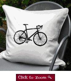 Road bike cushion cover