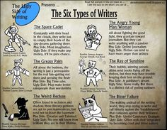 Call me Sunshine! The 6 types of writers | Scénario-Buzz