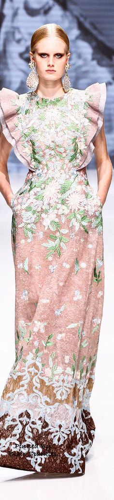 Paris Fall Couture 2016 Sebastian Gunawan ~ ♕♚εїз | BLAIR SPARKLES |