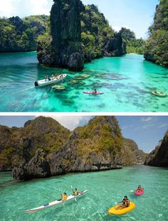el nido, philippines I would love to go to the Philippines