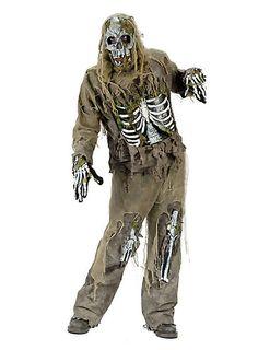 Zombie Skelett Kostüm  #halloween #undead #zombie #horror #costume