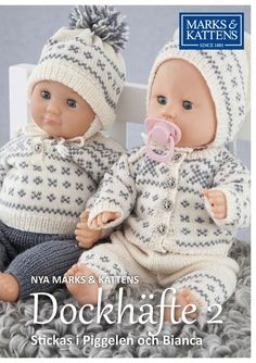 Best 12 Plaggen stickas i Piggelen och Bianca Knitted Doll Patterns, Lace Patterns, Knitted Dolls, Baby Knitting Patterns, Knitting Dolls Clothes, Baby Doll Clothes, Doll Clothes Patterns, Girl Dolls, Baby Dolls