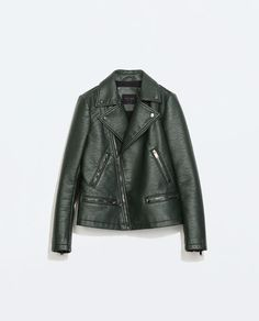 ZARA - SPECIAL PRICES - FAUX LEATHER JACKET $60
