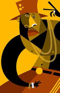 LL Cool J by Pablo Lobato, via Flickr