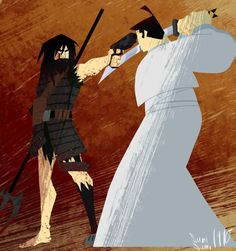 Samurai Jack - the past and the future the pure one and the lost one.