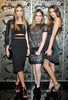 Cindy Crawford's lookalike daughter Kaia Gerber stuns at 'Teen Vogue' party