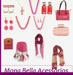 Sabia disso?: Minha seleção outubro rosa:Mona Bela Acessórios