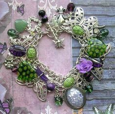 Come see my first Auction today for this bracelet on TopHatter! :))