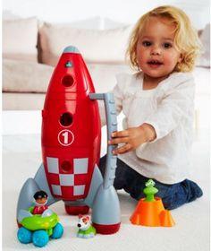 Happyland Lift Off Rocket