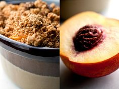 Peach or Nectarine and Blueberry Crumble With Quinoa-Oat Topping - NYTimes.com