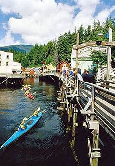 View from Cape Fox Lodge Ketchikan Alaska, Best Sunday Brunch ANYWHERE.....