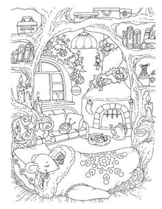 Cute Coloring Books for Adults Nice Little town Christmas 2 Adult Coloring Book Stress Cute Coloring Pages, Animal Coloring Pages, Free Printable Coloring Pages, Coloring Books, Printable Christmas Coloring Pages, Adult Coloring Book Pages, Fairy Coloring, Free Adult Coloring, Free Coloring Sheets